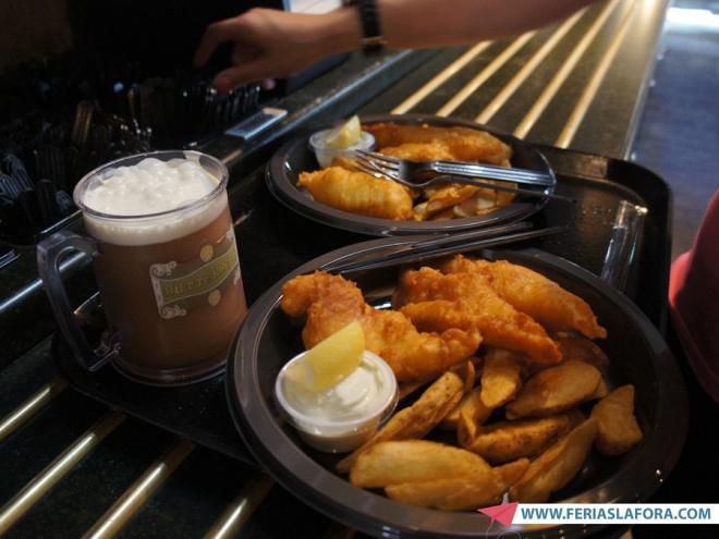 Fish and Chips no Três Vassouras