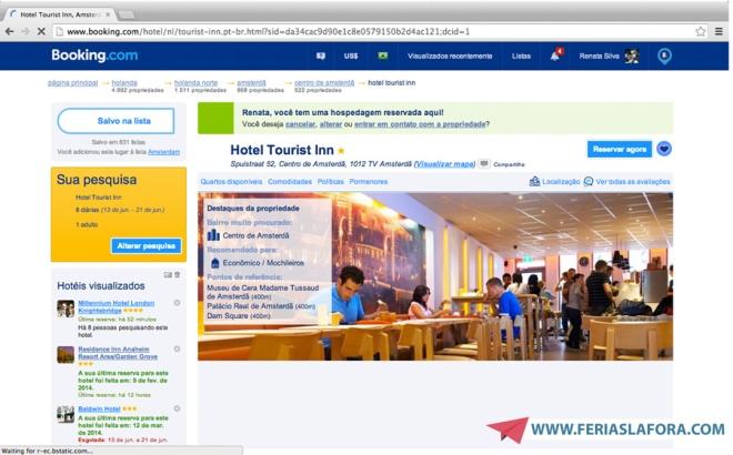 Exemplo de hotel encontrado na busca.