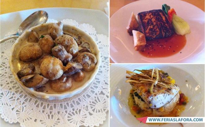 Os cogumelos que pedimos foram a melhor coisa que comemos em toda a viagem a Orlando esse ano.