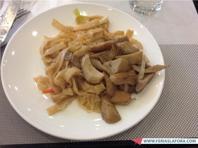 Café da manhã: shitake