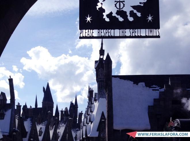"""Vá """"correndo"""" para o Wizarding World of Harry Potter. É uma boa caminhada..."""