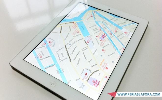 Bem prático - Mapa de Amsterdã offline no iPad