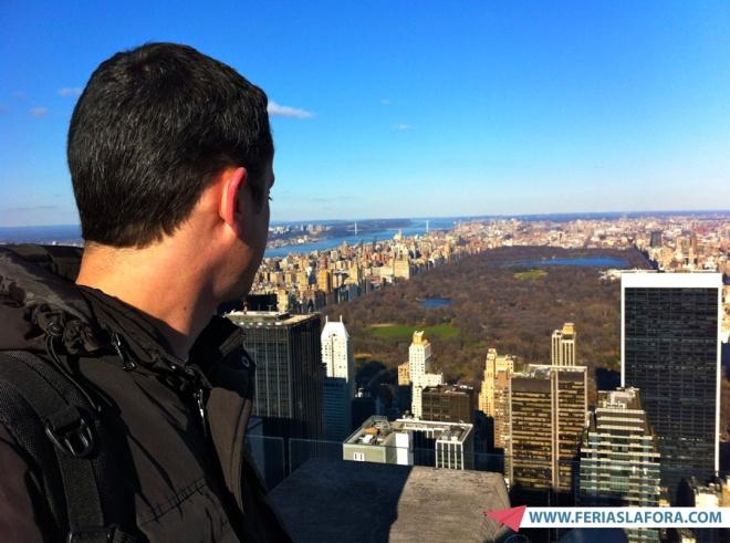 A visão do Central Park arranca suspiros, mesmo no inverno.