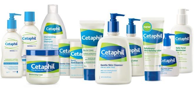 Linha completa - Para peles muito secas opte pelo Cetaphil Restoraderm