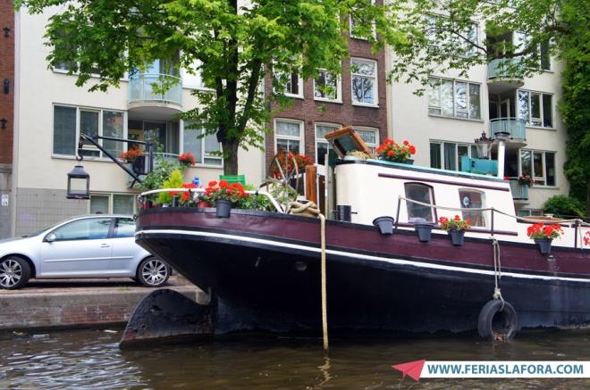 As casas-barco (boathouses) são lindamente decoradas. Dá vontade de morar em uma...