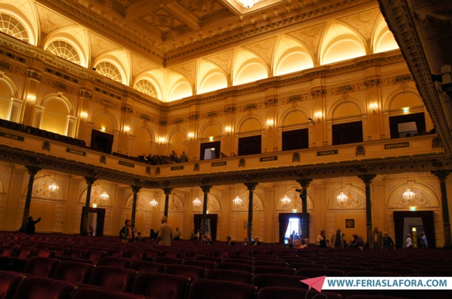 Concerto no The Concertgebouw, que tem uma das melhores acústicas do mundo...