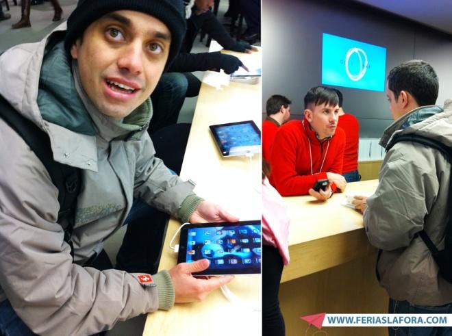 """Meu primeiro iPad"" kkk"