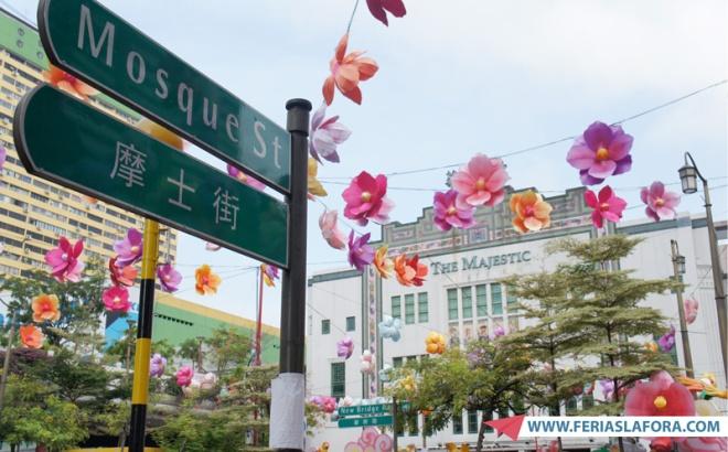 Na Chinatown de Singapura dá para se sentir na China de antigamente, mas com tudo perfeitamente limpo, seguro e organizado.